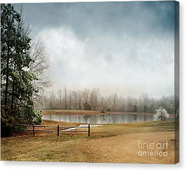 Snow Scene Canvas Print - Frostbitten by Jai Johnson