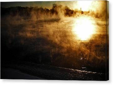 Frosty Morning ... Canvas Print by Juergen Weiss