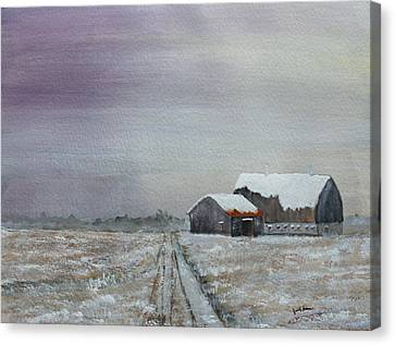 Frosty Morning Canvas Print