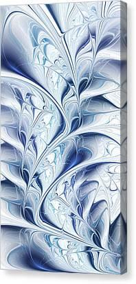 Winter Canvas Print - Frozen by Anastasiya Malakhova