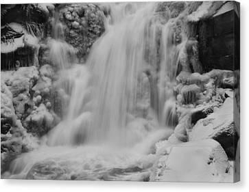 Frozen Calamity Canvas Print by Mark Kiver