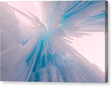 Frozen Canvas Print by Chad Dutson