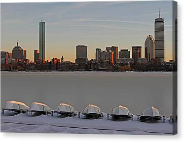 Frozen Charles Canvas Print by Juergen Roth