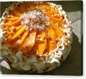 Frozen Molokai Mango Mele Pie Canvas Print
