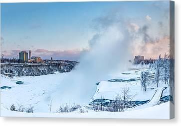 Frozen Niagara N1 Canvas Print