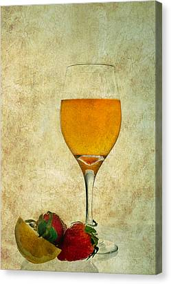 Fruit And Drink Canvas Print