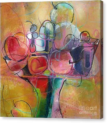 Fruit Bowl No.1 Canvas Print by Michelle Abrams