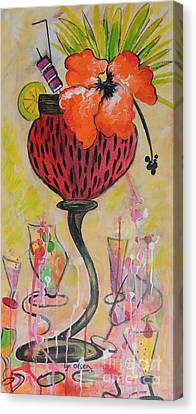 Fruit Cocktail Anyone Canvas Print by Lyn Olsen