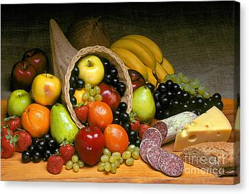 Fruit Cornucopia  Canvas Print by Craig Lovell