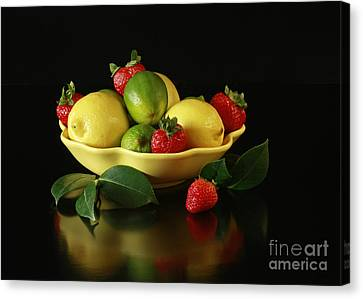 Fruit Explosion Canvas Print by Inspired Nature Photography Fine Art Photography