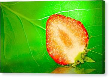 Fruit Of Rainy Summer Canvas Print by Janne Mankinen