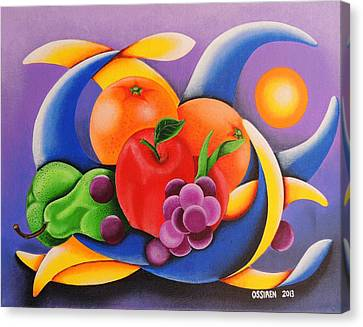 Fruit Canvas Print by Oswaldo Cevallos