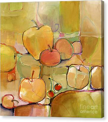 Fruit Still Life Canvas Print by Michelle Abrams