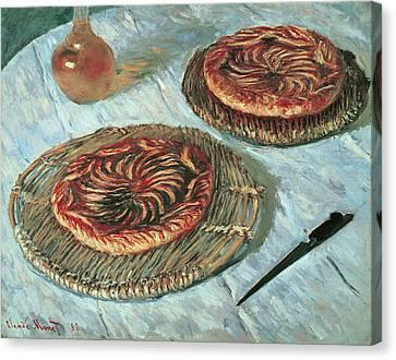 Boulangerie Canvas Print - Fruit Tarts by Claude Monet