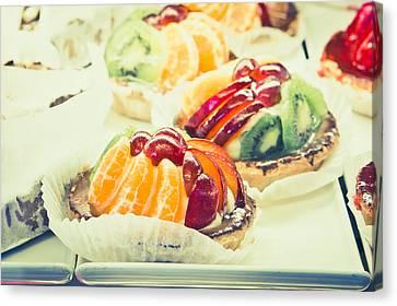 Fruit Tarts Canvas Print