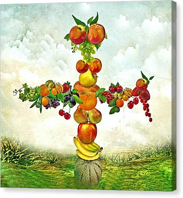 Fruit Tree Canvas Print by Manfred Lutzius