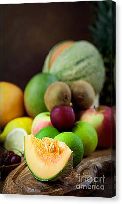 Fruit Variety Canvas Print by Mythja  Photography