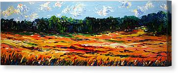 Canvas Print featuring the painting Fruition by Meaghan Troup
