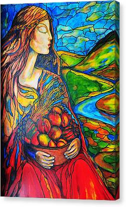 Fruits Of Labor Canvas Print by Rae Chichilnitsky
