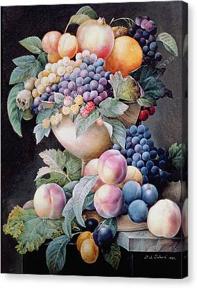 Fruits Canvas Print by Pierre Joseph Redoute