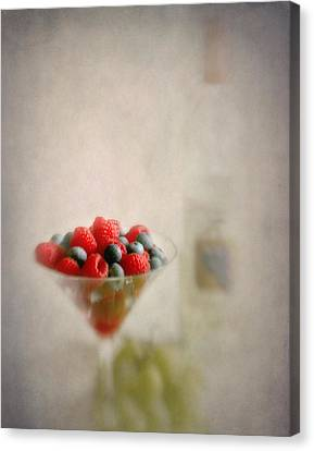 Fruity Flavors  Canvas Print by David and Carol Kelly