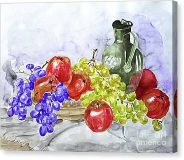 Fruit After Him Canvas Print by Jasna Dragun