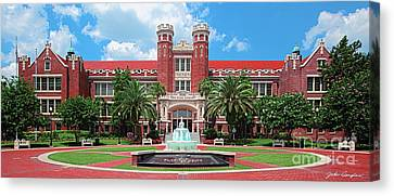 Fsu Westcott Building Canvas Print