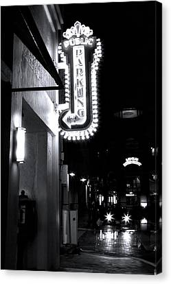 Ft. Lauderdale Nights Canvas Print by Mark Andrew Thomas