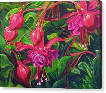 Fuchsia Fantastic Canvas Print
