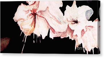 Fuchsias Canvas Print by Joyce Gebauer