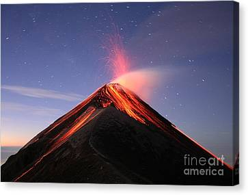 Fuego At Sunrise Canvas Print by Kevin Sebold