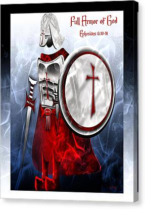 Full Armor Of God Canvas Print
