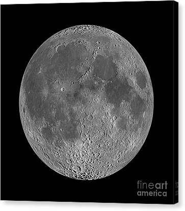 Full Moon 2 Canvas Print by Jon Neidert