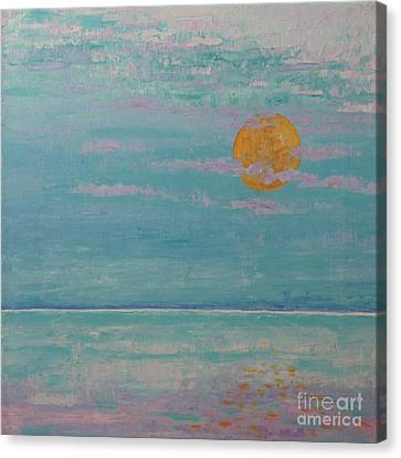 Full Moon In May Canvas Print
