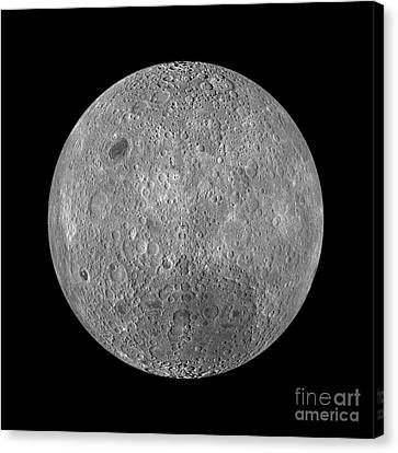 Full Moon Canvas Print by Jon Neidert