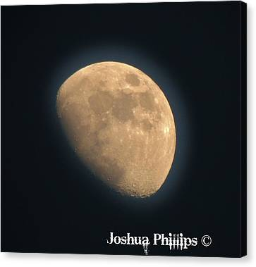 Full Moon Canvas Print by Joshua Phillips