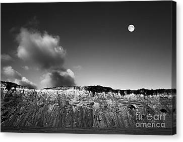Full Moon Over Cape Cod Canvas Print by Diane Diederich