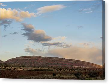Full Moon Over Jemez Mountains - New Mexico Canvas Print by Brian Harig