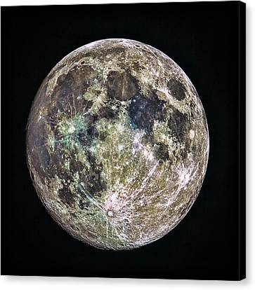 Full Moon Canvas Print by Todd Ryburn