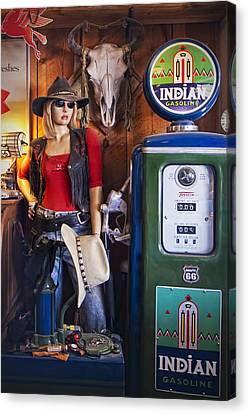 Full Service Route 66 Gas Station Canvas Print