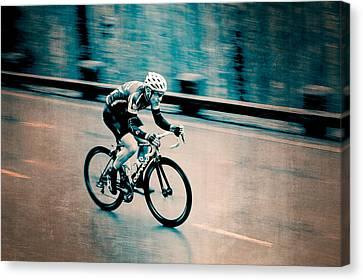 Canvas Print featuring the photograph Full Speed Ahead by Ari Salmela