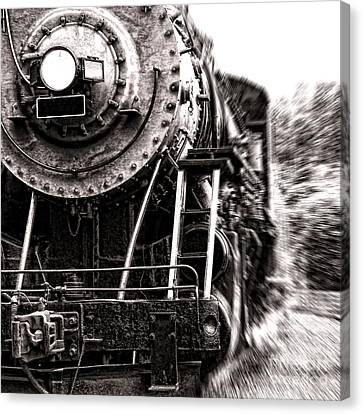 Full Steam Canvas Print by Olivier Le Queinec