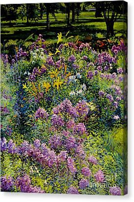 Full Sun Full Garden Canvas Print