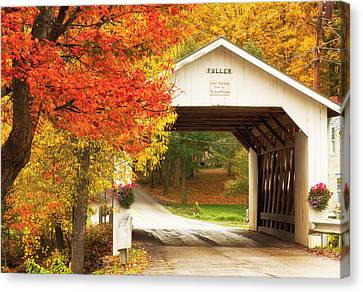 Fuller Covered Bridge Canvas Print