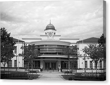 Fullerton College Library Canvas Print by University Icons