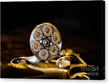 Canvas Print featuring the photograph Fully Loaded by Deniece Platt
