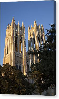 Fumc Towers Canvas Print
