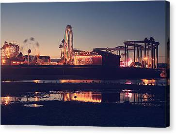 Roller Coaster Canvas Print - Fun And Games by Laurie Search