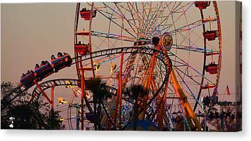 Fun At The Fair Canvas Print by David Lee Thompson