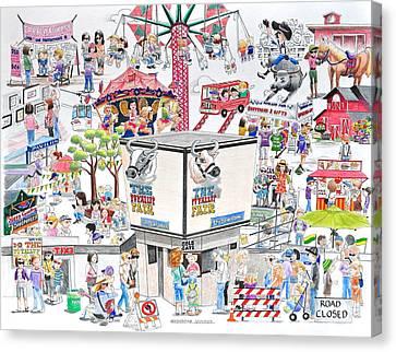 Fun Fair Canvas Print